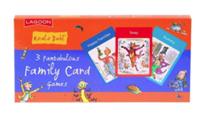 Roald Dahl set of Family Card Games