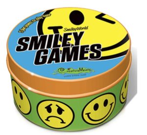 Smiley Game Tin