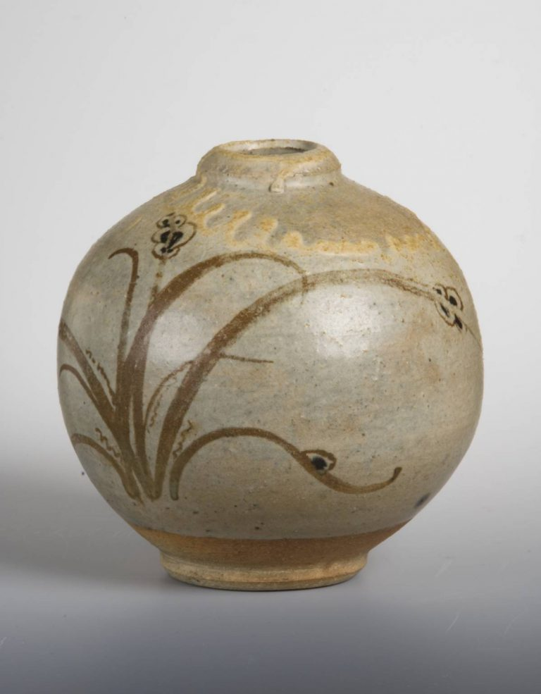 Spherical Vase Circa 1927 By Bernard Leach 1887 1979